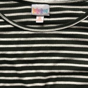 Lularoe striped Irma tunic XS